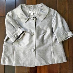 Loft Silver Short Sleeve Jacket